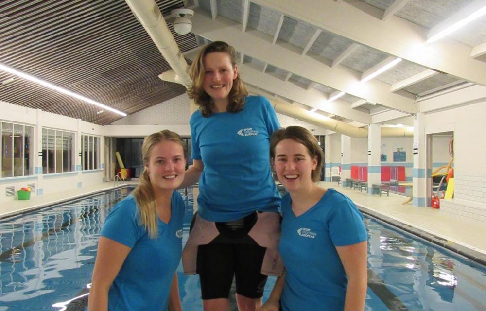 Team zwemonderwijzers Bijzondere Talenten